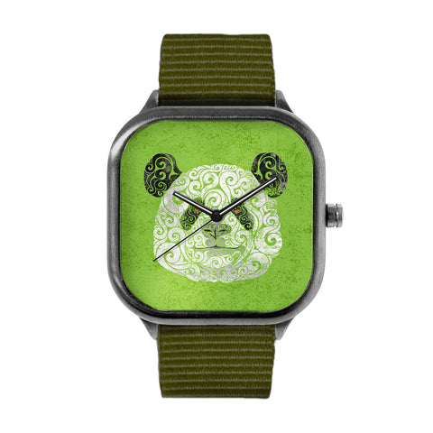 Swirly Panda Watch