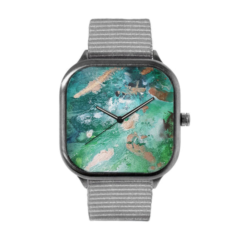 Turquoise Texture Watch