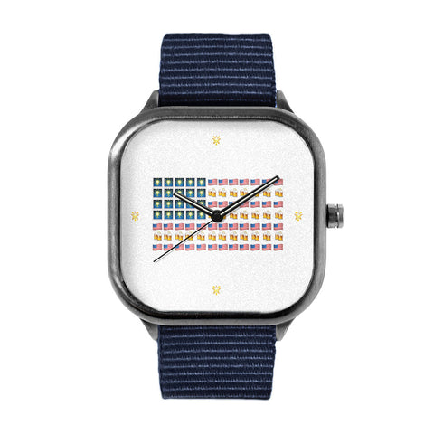 Emoji Flag Watch