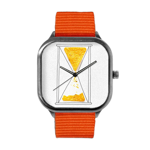 Dorito Clock Watch