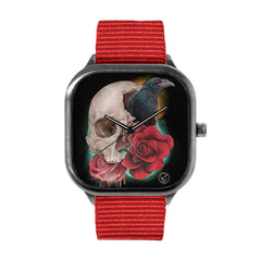 Caveira Flor Corvo 2 Watch