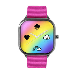 Rainbow Chrono Gradient Watch