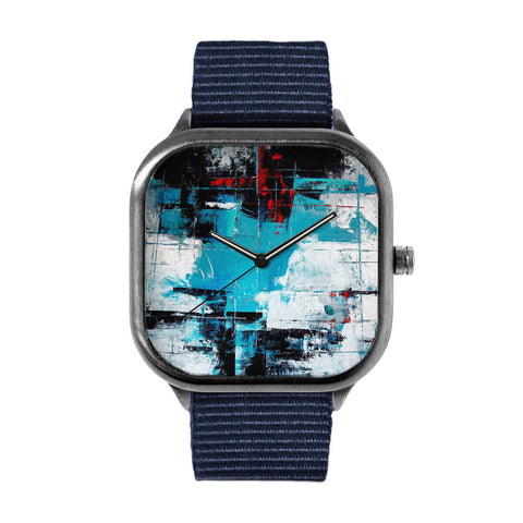 Abstract Impressions Acrilico Su Tela Watch