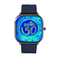 Blue Om Watch
