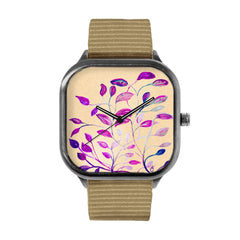 Tan Leaves Watch