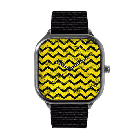 Yellow and Black Watch