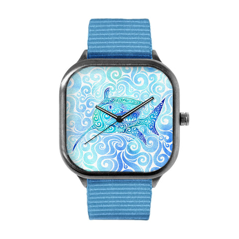 Swirly Shark Watch