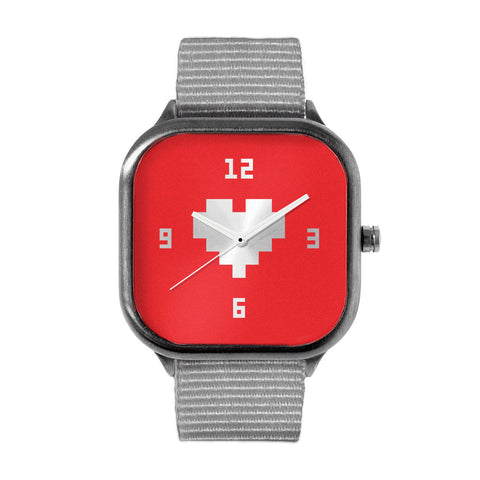Pegboard Nerds Red Watch
