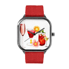 Cocktail Glasses Watch