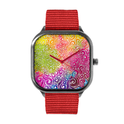Swirly Woman Watch