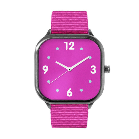 Basic Pink Alloy watch
