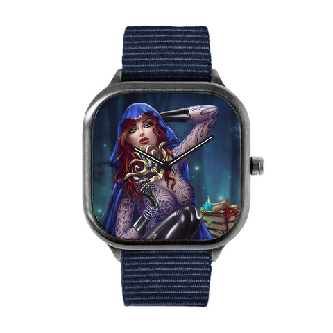 Womanly Wiles Blue Watch