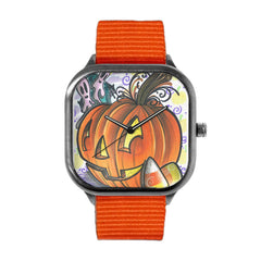 Candy Pumpkin Watch