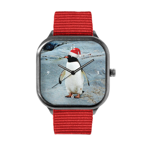 Santa Penguin Watch