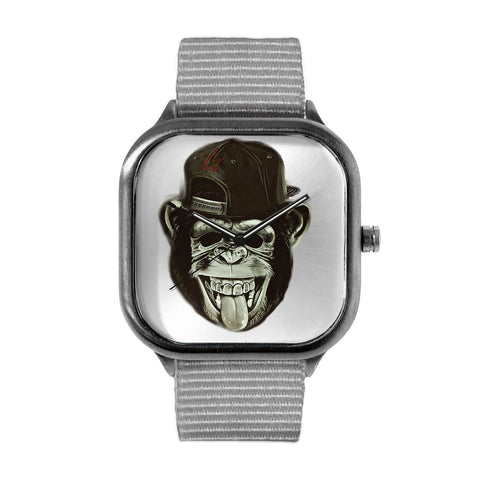 Hipster Monkey Watch