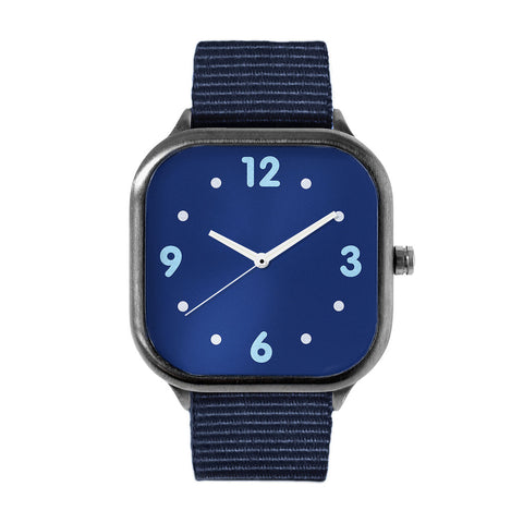 Basic Navy Alloy watch
