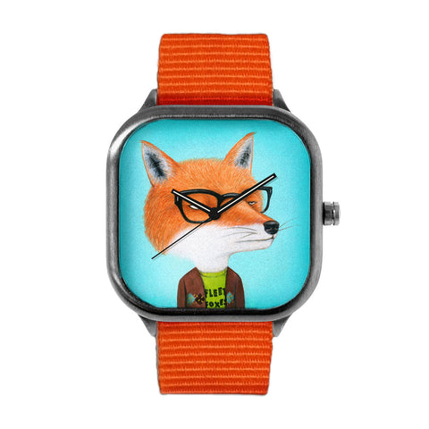 Foxes Love J Tillman Watch