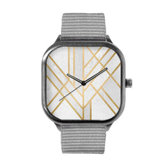 Art Deco Geometry Watch