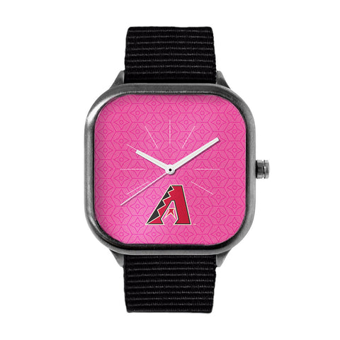 Pink Arizona Diamondbacks Watch
