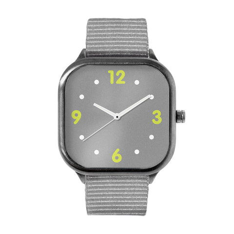 Basic Grey Alloy watch