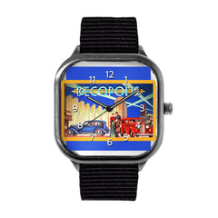 Blue Decopolis Watch