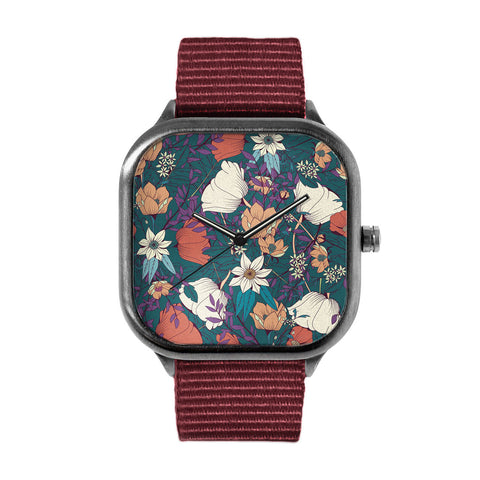 Botanical Pattern 8 Watch