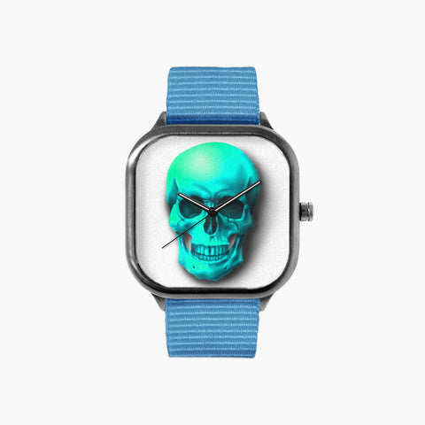 LightBlueSkull Watch