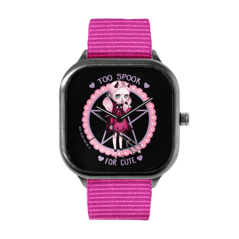 Too Spook for Cute by Miss Cherry Martini Watch