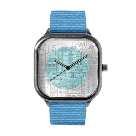 Small City Alloy watch