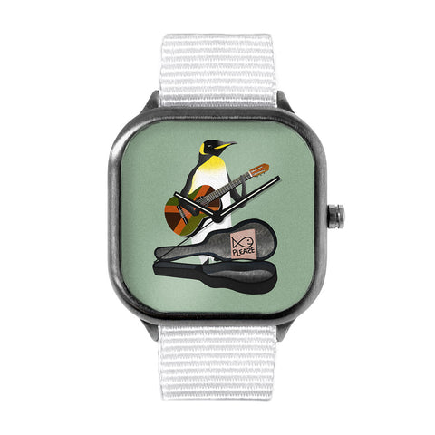 Penguin Guitar Watch
