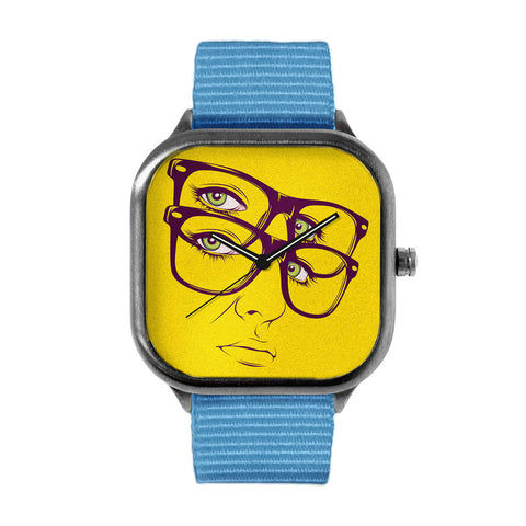 CranioDsgn Yellow Face Watch