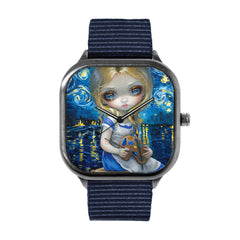 Alice in a Van Gogh Nocturne Watch