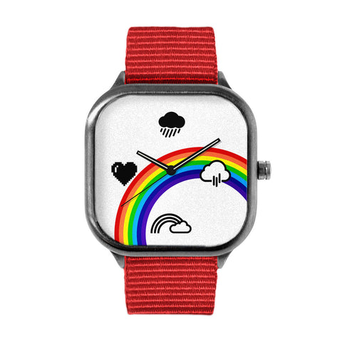 Rainbow Chrono Watch
