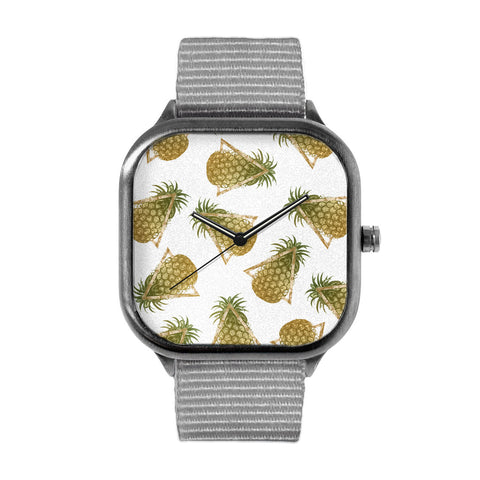Pineapples and Triangles Watch