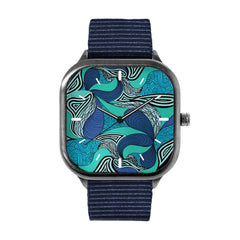 Abstract Blues Watch