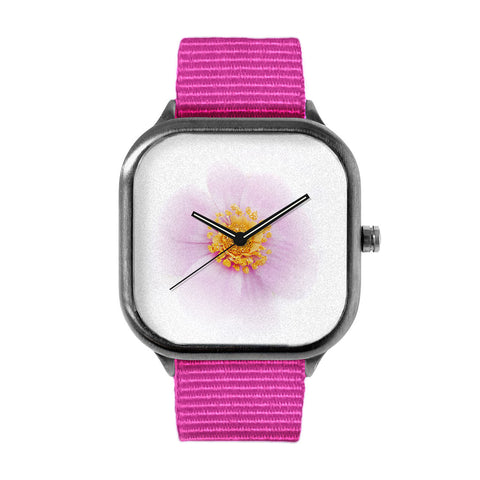 Lilac Breeze Flower Watch