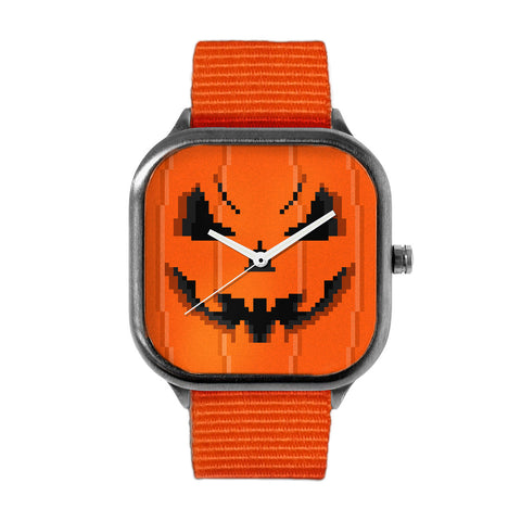 Pumpkin Face Watch