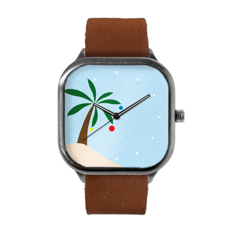 Festive Palm Tree Watch