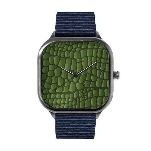 Reptilian Scales Alloy watch