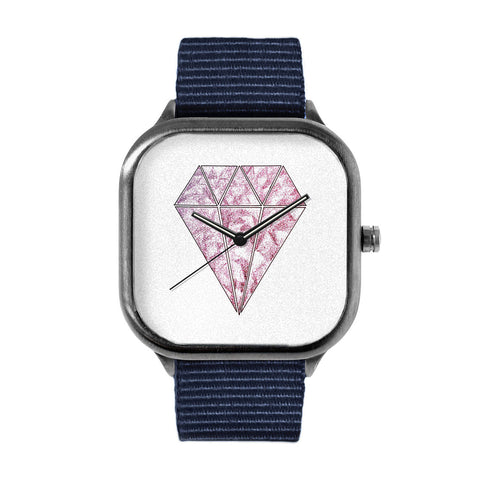 Pink Diamond Watch