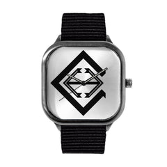 Clinton Logo Alloy watch