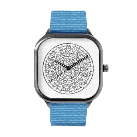 Intricate Mandala Flower Watch