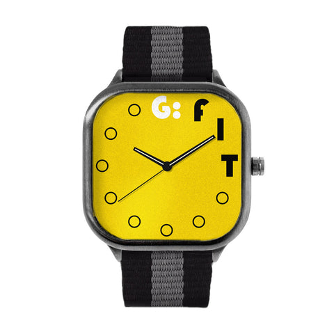 Fiverr Yellow Watch