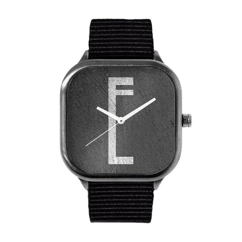 Monolithic Monogram E Watch