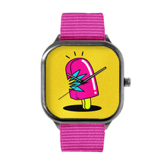 Pink Popcycle Watch