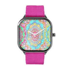 Vibrant Mandala Watch