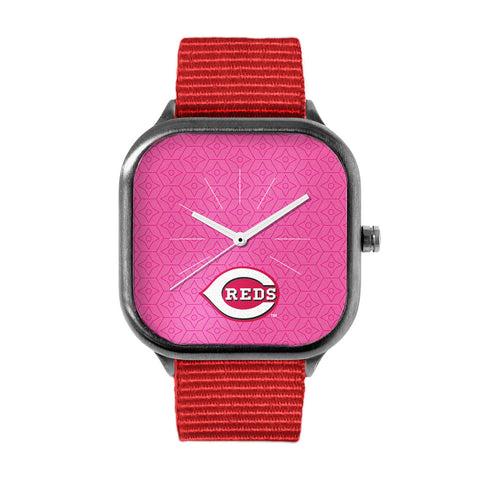 Pink Cincinnati Reds Watch