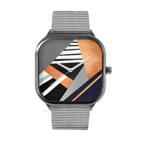 Geometric Combination Watch