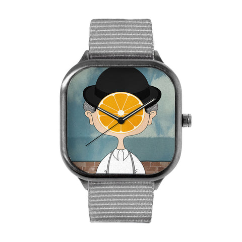 Magritte Clockwork Orange Watch