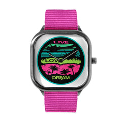 Live Love Dream Threadless Watch